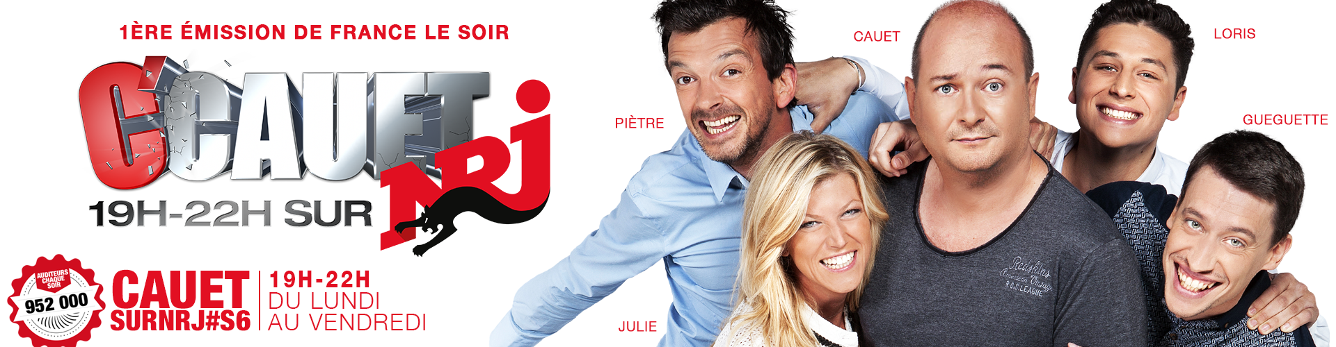 C'Cauet sur NRJ. Une production de Be Aware Radio
