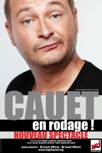 Cauet en rodage. Une production de Be Aware Groupe