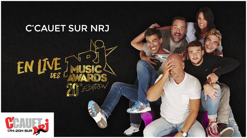 Affiche de l'émission spéciale C'Cauet sur NRJ pour les NRJ Music Awards 20ème édition